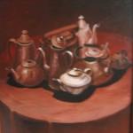 """""""Чайники"""", х. м., 60 х 60, 1986 год."""