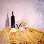"""""""Натюрморт"""", масляная пастель, 47, 5 х 55, 1998 год."""