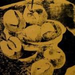"""""""Яблоки"""", монотипия, 30 х 40, 1988."""